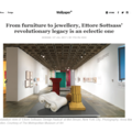 From Furniture to Jewellery, Ettore Sottsass' Re...