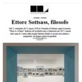 Ettore Sottsass, filosofo - Press
