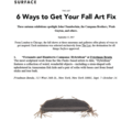 6 Ways to Get Your Fall Art Fix - Press