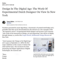 Design in the Digital Age: The Work of Experimenta...