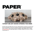 10 Must See Art Shows Opening This Week - Press