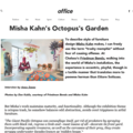 Misha Kahn's Octopus's Garden - Press