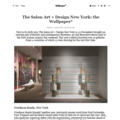 The Salon Art + Design New York: the Wallpaper* -...