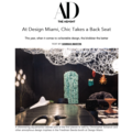 At Design Miami, Chic Takes a Back Seat - Press