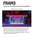 Beach, sun, and design: the best of Design Miami/...