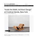 'Inside the Walls: Architect Design' at Friedm...
