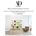 Why Architects Design Furniture