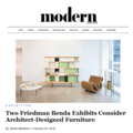 Two Friedman Benda Exhibits Consider Architect-Des...