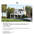 Wendell Castle's Home and Studio: A Look Back