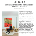 George Lindemann Remembers Wendell Castle