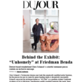 "Behind the Exhibit: ""Unhomely"" at Friedman Ben..."