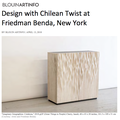 Design with Chilean Twist at Friedman Benda, New Y...