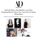 Deborah Berke, India Mahdavi, and Other Designing...