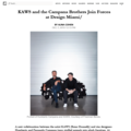 KAWS and the Campana Brothers Join Forces at Desig...