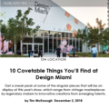10 Covetable Things You'll Find at Design Miami...