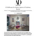 A Dollhouse for Adults Opens at Friedman Benda