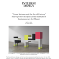 """Ettore Sottsass and the Social Factory"" Retro..."