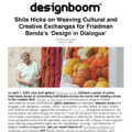 Shila Hicks on Weaving Cultural and Creative Excha...