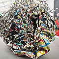 John Chamberlain, sculptor who used crushed-up car...