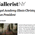 Royal Academy Elects Christopher Le Brun President