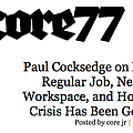 Paul Cocksedge... - Press