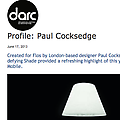 Profile: Paul Cocksedge