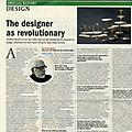 The designer as revolutionary