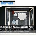 Patti Smith and Andrea Branzi in Paris - Press