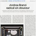 Andrea Branzi radical en douceur - Press