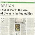 Less is more: the rise of the very limited edition...