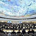 United Nations in Geneva Presents Miquel Barcelo�...