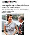 Kate Middleton goes for royal glamour in grey duri...