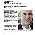 Christopher Le Brun becomes Royal Academy presiden...