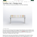 London Art + Design 2015 - Press
