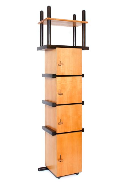 Cabinet, 1964 Partially ebonized beech wood 106.75...