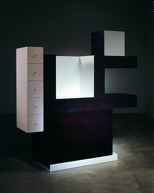 Cabinet no. 67, 2006 Macassar, ebonized pear wood,...