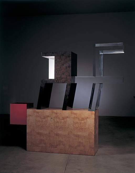 Cabinet no. 76, 2006 Ebonized pear wood, acrylic,...