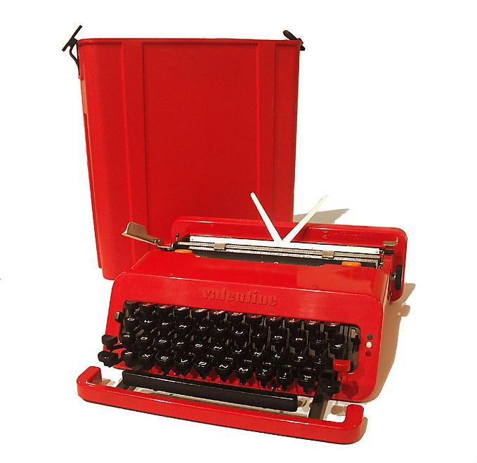 """Valentine"" Typewriter, 1969 An example of this wo..."