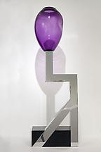 Vase no. 21, 2006 Glass and aluminum on corian bas...