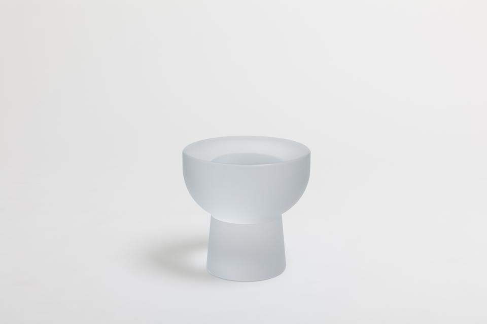 Cup / Water, 2016 Lithium-barium crystal 15.75 x 1...