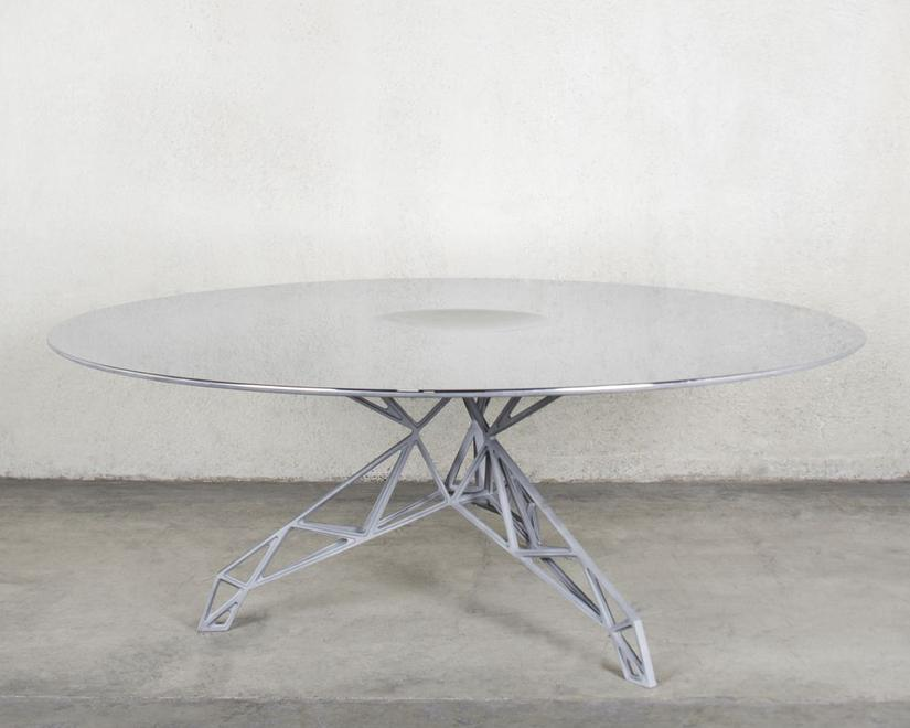 Hubble Table, 2014 Aluminum and Tungsten Carb...