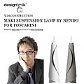 Deconstruction: Maki Suspension Lamp by nendo