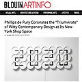 'Triumvirate' of Witty Contemporary Design at Phil...