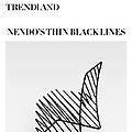 nendo's Thin Black Lines