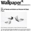Duo of nendo exhibitions at Maison & Objet, Paris...