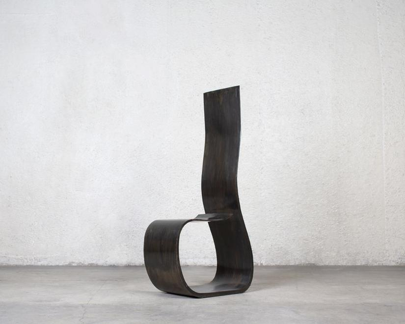 Prototype for Eight by One, 1991 Patinated steel 4...