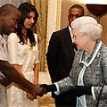Evans Wadongo Shines in Meeting with Queen Mother
