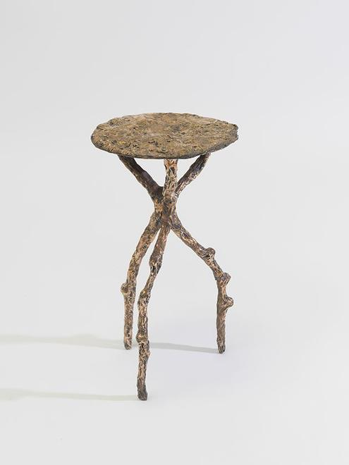 Side Table, 2015 Bronze 19 x 11.25 x 11.5 inches 4...