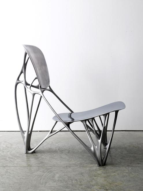 Joris Laarman [Dutch, b. 1979] Bone Chair, 2006 Al...