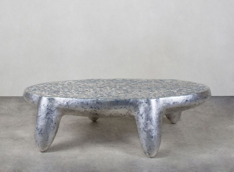 Wendell Castle [American, 1932-2018] Triad Table,...